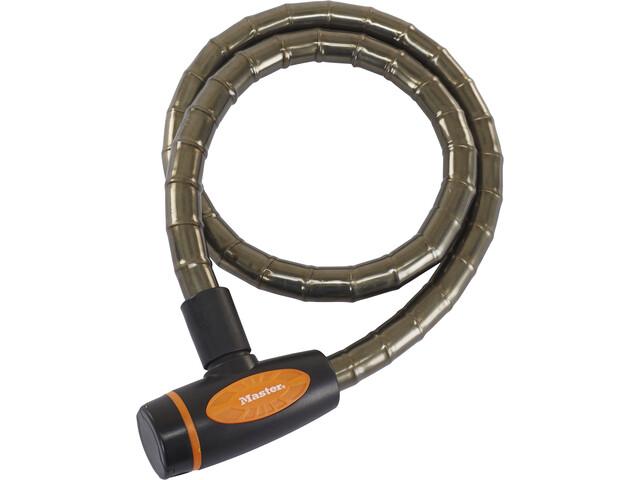 Masterlock 8228 PanzR Cavo antifurto 18x1000mm, grigio